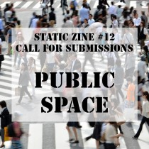 public space static zine
