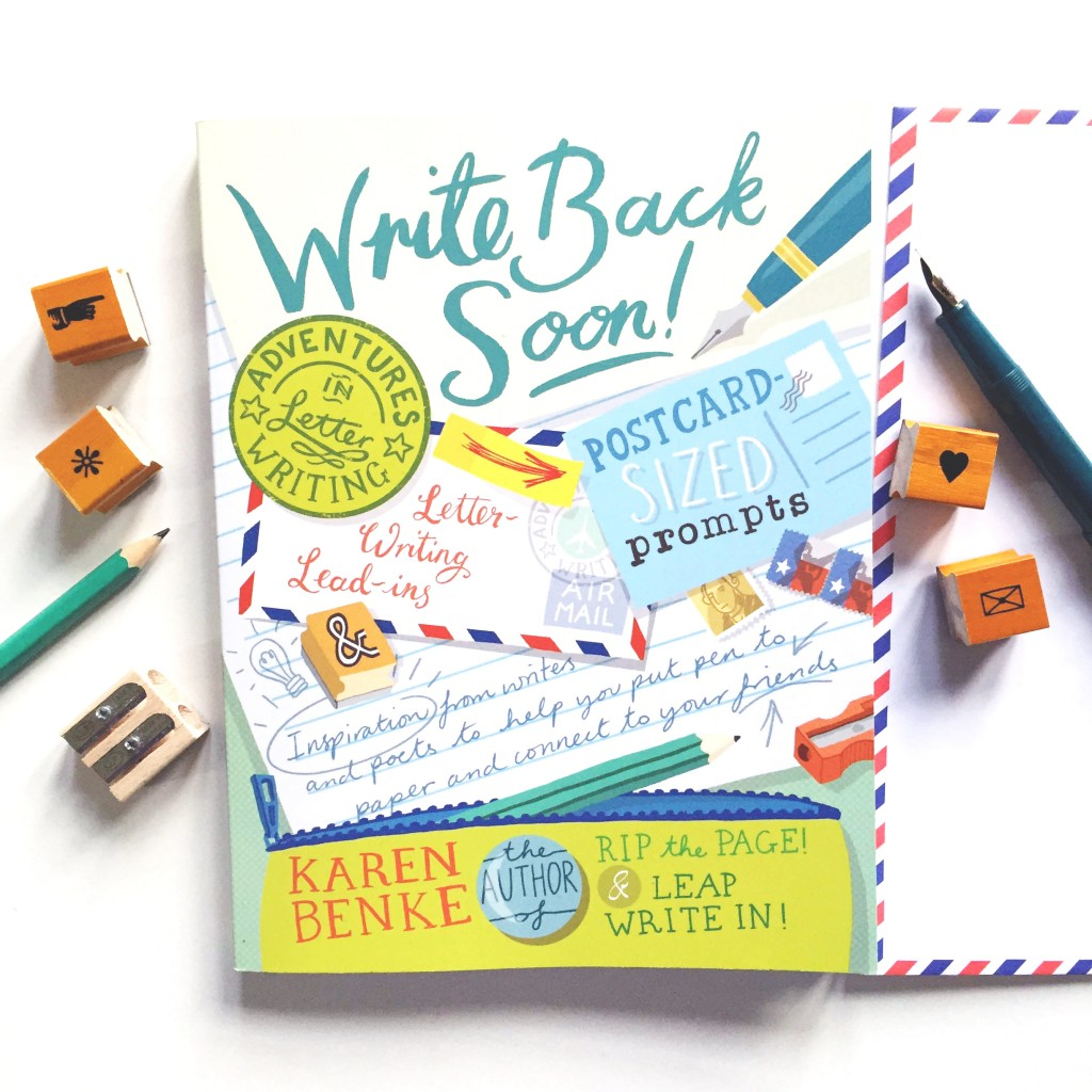 write back soon book paper trail diary