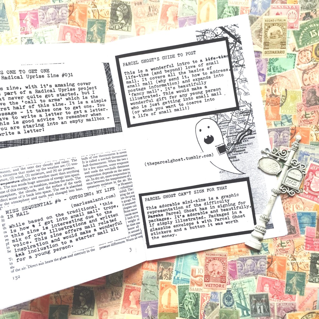 winged snail mail zines paper trail diary