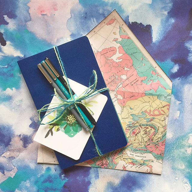 notebook and pen swap 2015