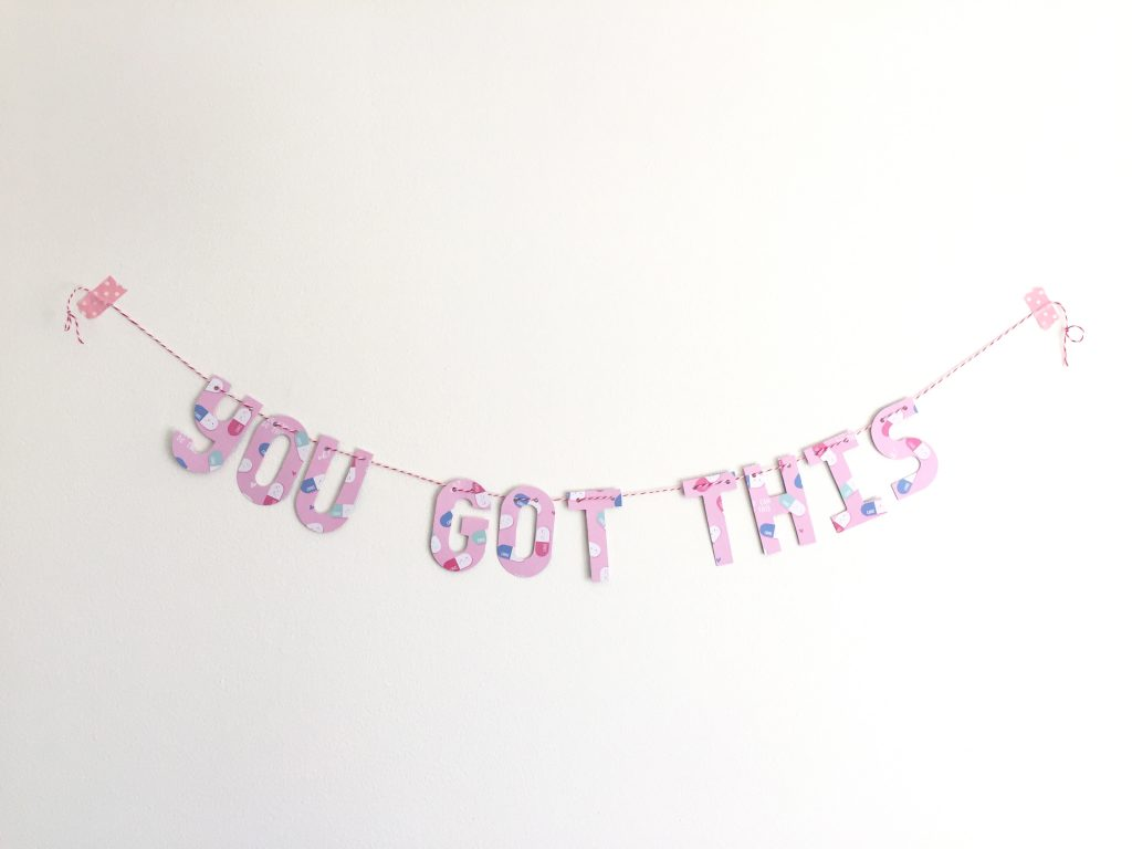 you got this banner paper trail diary