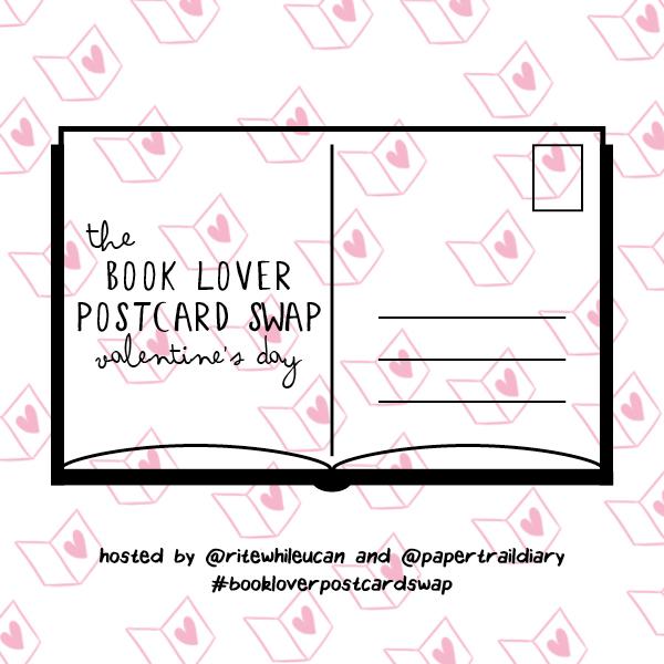 Book Lover Postcard Swap Valentine's Day 2019