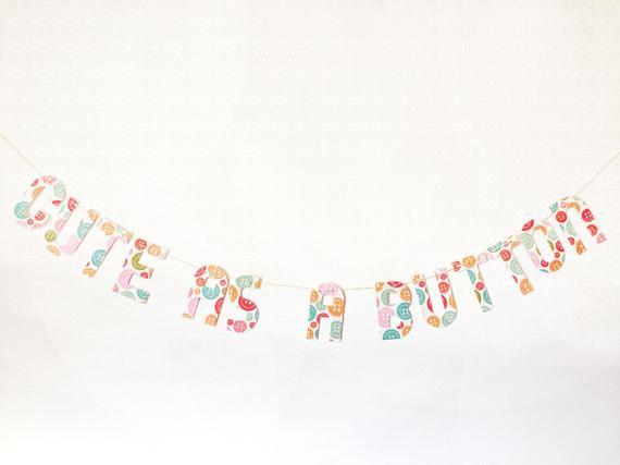 cute as a button banner - paper trail diary