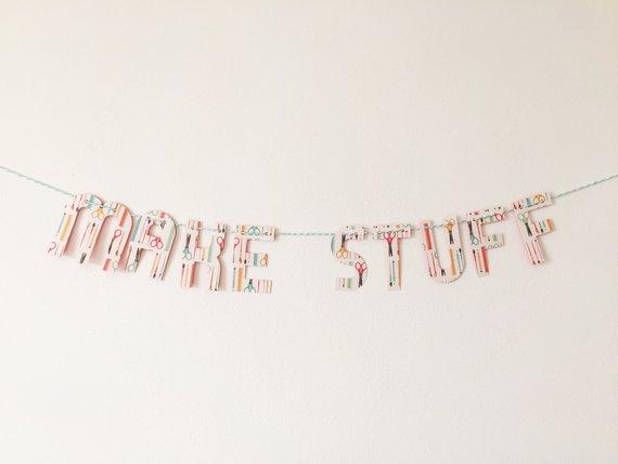 make stuff banner - paper trail diary
