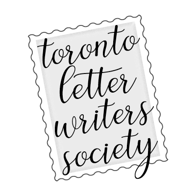 toronto letter writers society